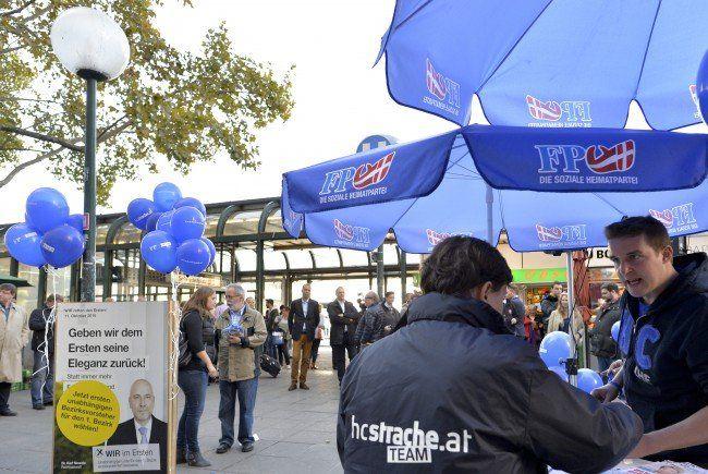 Wien-Wahl: Die FPÖ lockt - nicht immer nur die Massen