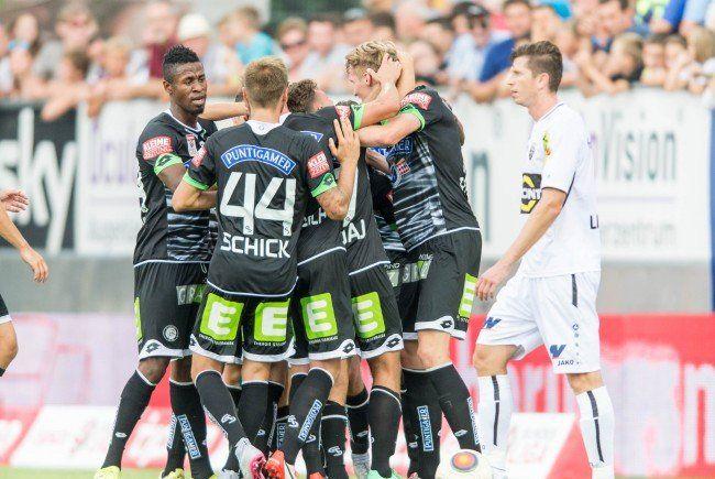 LIVE-Ticker zum Spiel SK Sturm Graz gegen SCR Altach ab 16.30 Uhr.