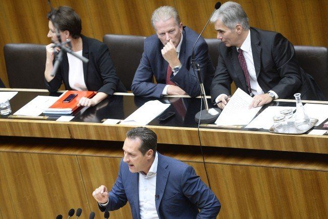 Regierungsvertreter helfen Strache