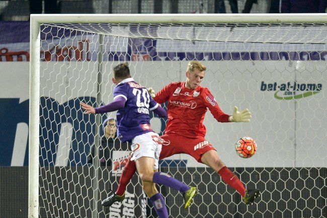 Alex Gorgon feiert mit der Wiener Austria den dritten Sieg in Serie.