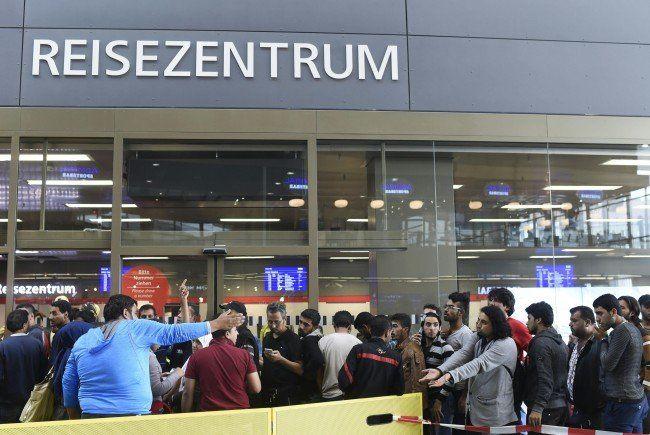 90 Prozent der Syrer gehen nach Wien