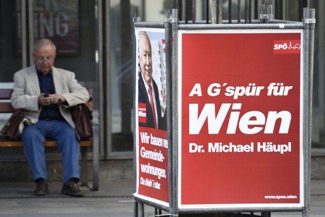 Wie die neueste Umfrage vor der Wahl zeigt, wird die SPÖ den ersten Platz für sich beanspruchen.