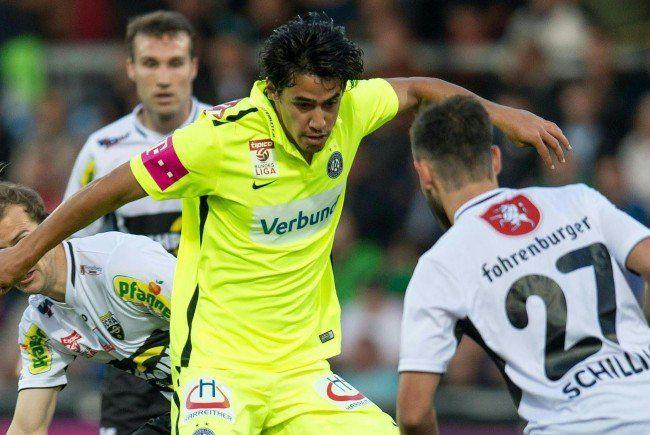 Austria Wien bezwang Altach auch im zweiten Saisonduell.