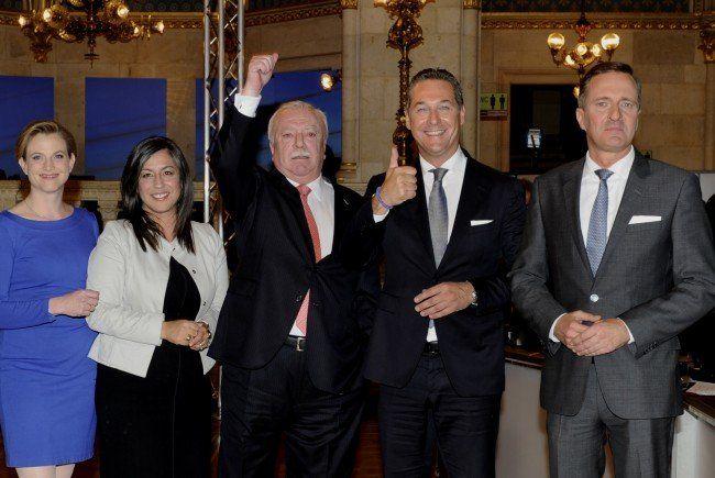 Das ist das vorläufige Endergebnis der Wien-Wahl.