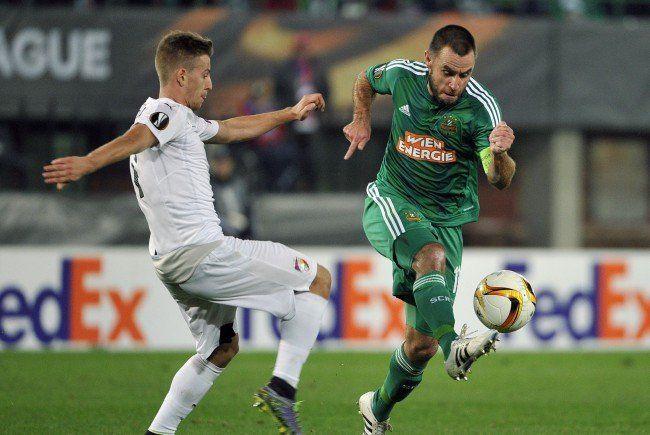 Rapid zeigte sich im Match gegen Viktoria Pilsen in Bestform.