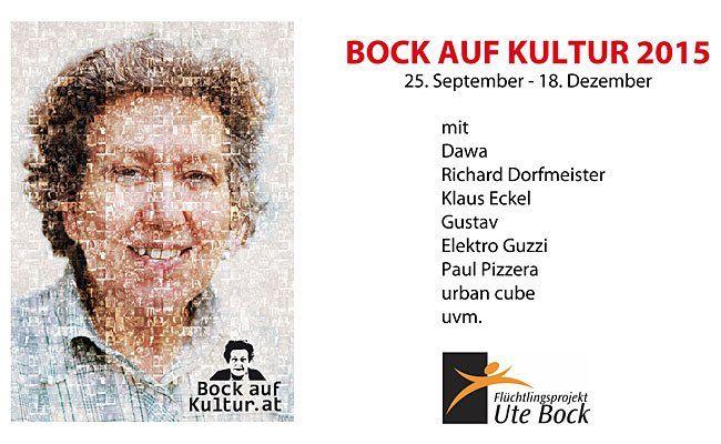 """Das Benefiz-Festival """"Bock auf Kultur 2015"""" findet derzeit statt"""