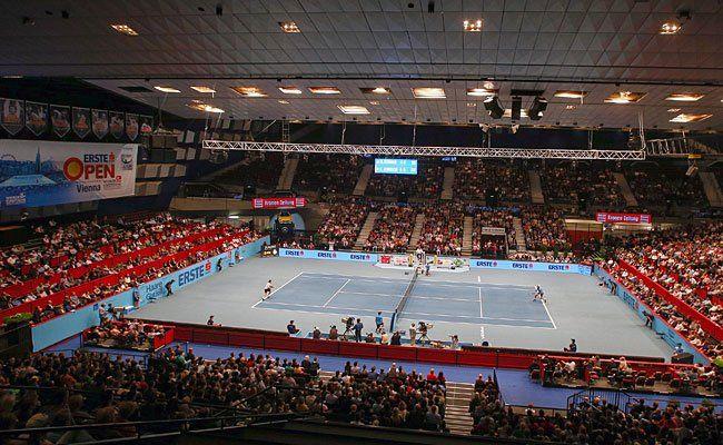 Beim Finale der Erste Bank Open in Wien