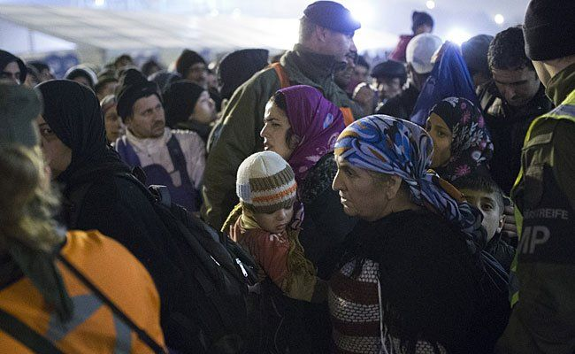 Flüchtlinge in Spielberg