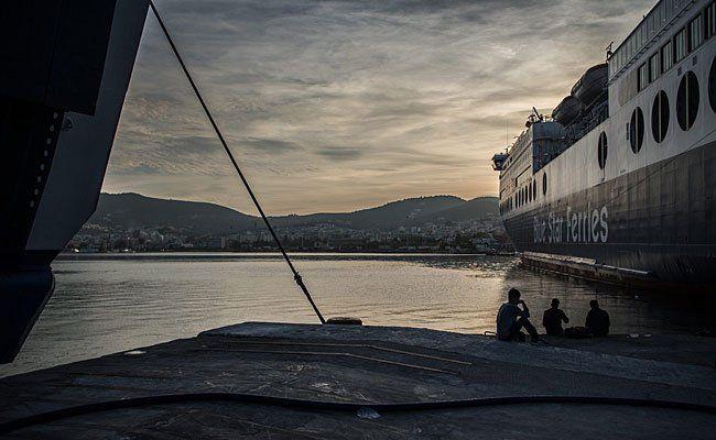 Flüchtlinge auf Lesbos