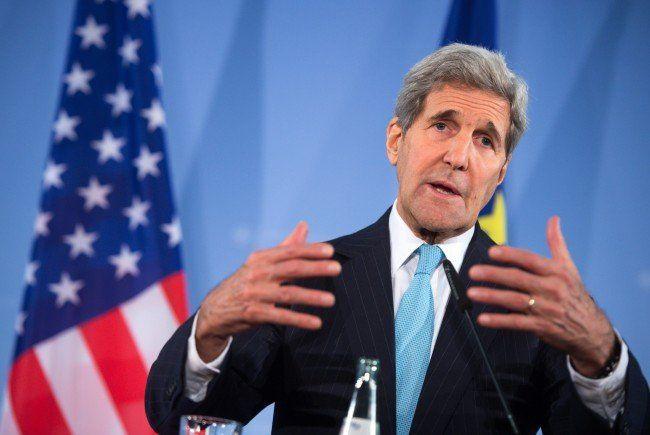 John Kerry zeigte sich zufrieden über die Wiener Syrien-Konferenz.