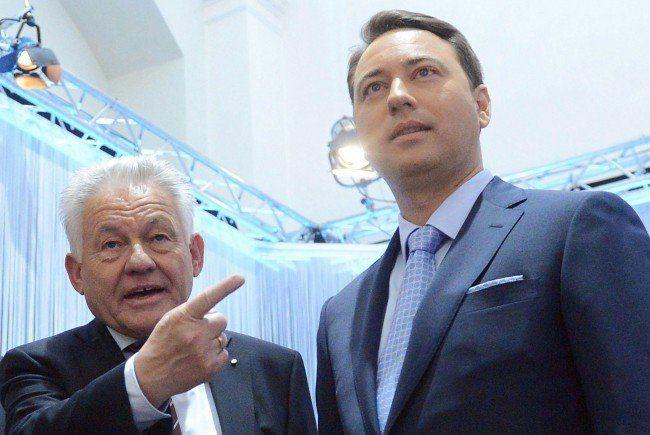Pühringer (ÖVP) mit Haimbuchner (FPÖ).