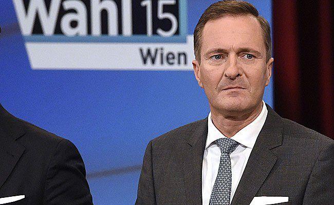 Manfred Juraczka (ÖVP) am Sonntag einer TV-Diskussion im Rahmen der Wahl in Wien