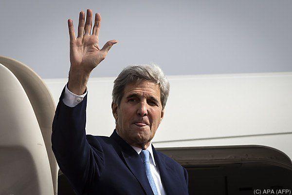 Auch John Kerry wird wieder in Wien zugegen sein.