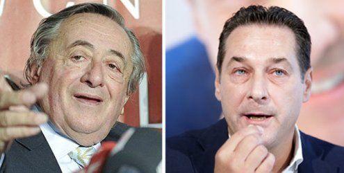 Lugner empfängt Strache & Co. zum letzten Wahlkampf-Talk