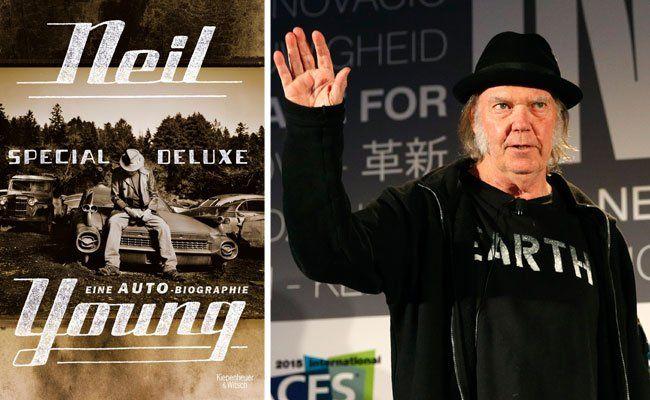 Neil Young hat eine zweiteilige Autobiographie geschrieben