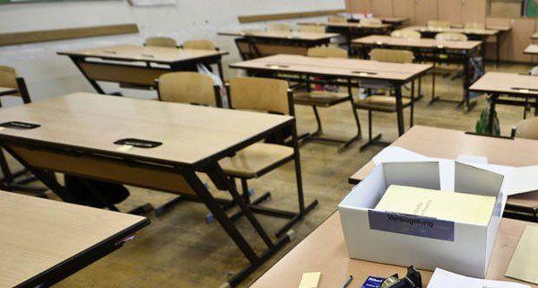 Die Schule in Klosterneuburg wurde evakuiert.
