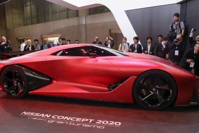 Nissan erregt Aufsehen mit dem Nissan Concept 2020 Vision Grand Tourismo