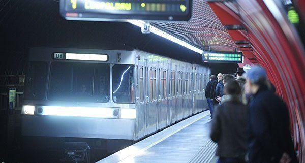 In einer U1-Station wurden mutmaßliche Diebe geschnappt
