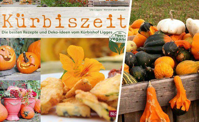 Im Buch werden g'schmackige Kürbisrezepte und tolle Deko-Ideen vorgestellt.