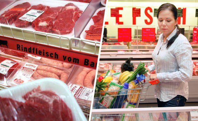 In Wiens Supermärkten legt man Wert auf Hygiene.