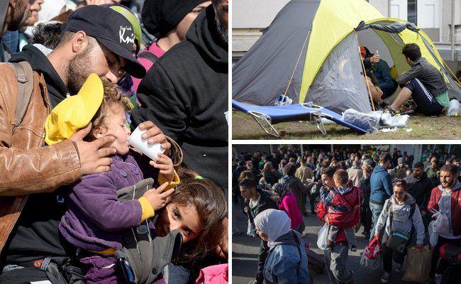Liveticker zur Flüchtlingskrise: Zustrom nach Österreich stabil