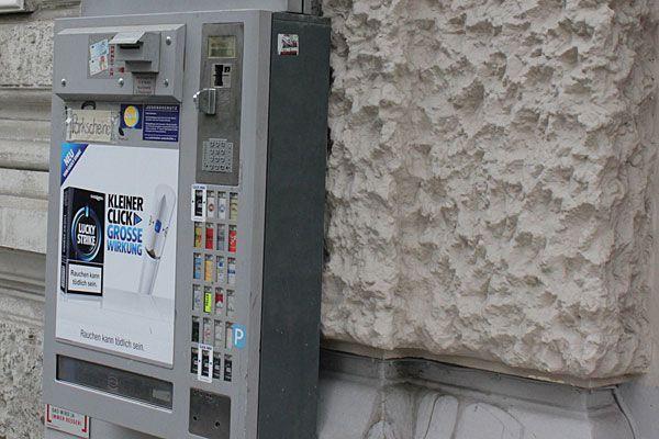 Die Jugendlichen hatten es auf Zigarettenautomaten abgesehen