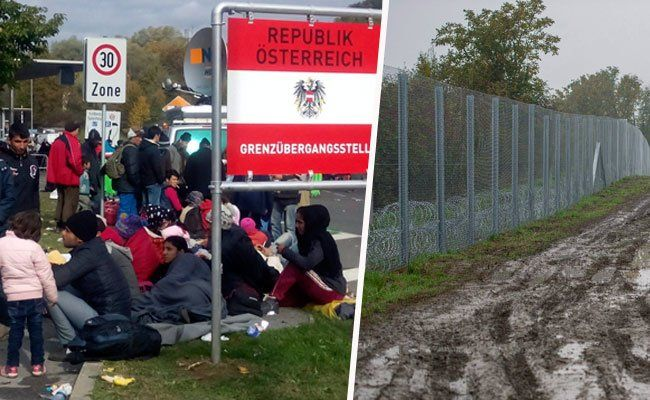 """Flüchtlinge - FPÖ will """"echten Grenzschutz"""" mit Zaun"""
