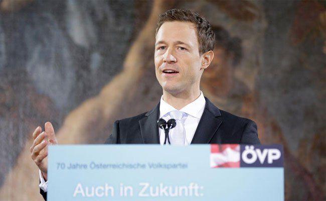 ÖVP-Generalsekretär Gernot Blümel soll in Wien übernehmen.