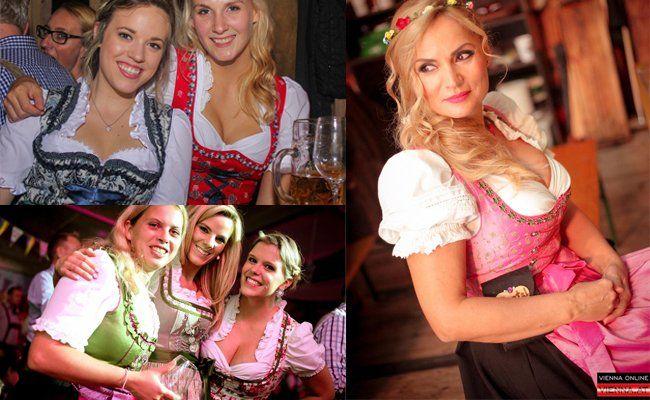 So schön waren die Frauen heuer auf der Wiener Wiesn