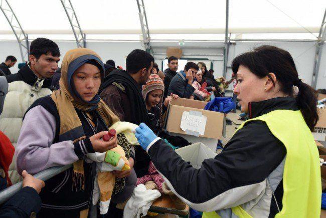 Die Kosten für Flüchtlinge werden im Budget miteinberechnet.