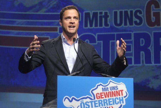Wiens FPÖ-Klubchef Johann Gudenus übernimmt als Vize im Rathaus.