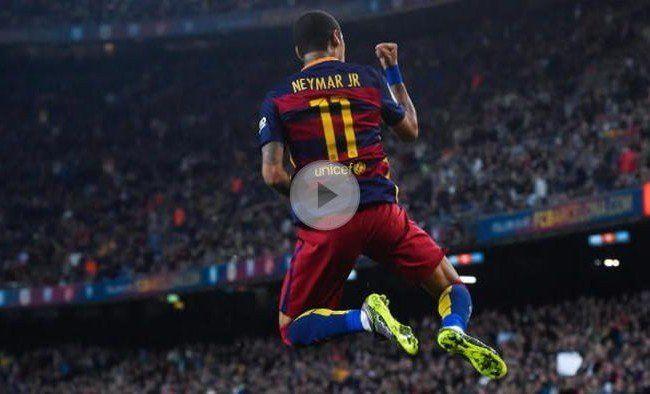 Neymar übernahm die Führung in der Torschützenliste.