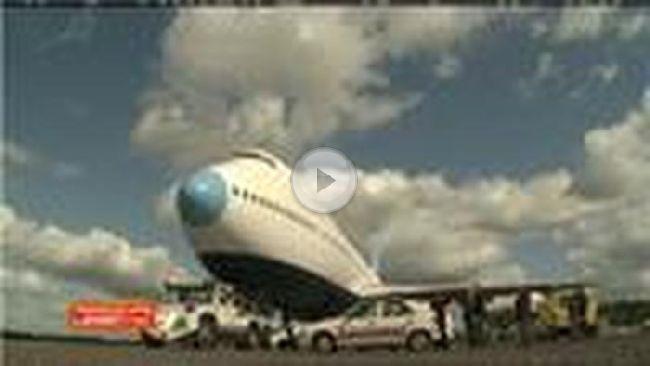 In diesem Flugzeug können nun Hotelgäste ihren Urlaub verbringen.