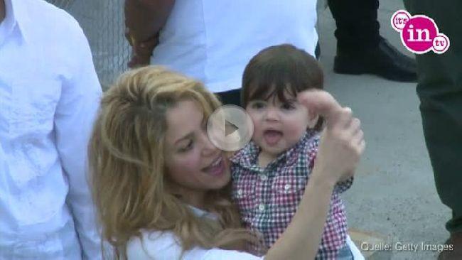Shakira ist mächtig stolz auf ihren kleinen Milán.