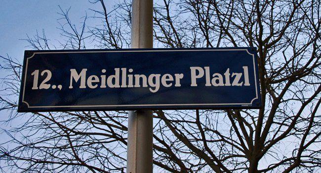 Charmant und interkulturell: Ein Blick nach Meidling.