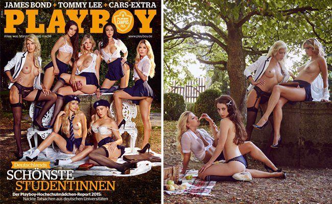 Der Studentinnen-Report im neuen Playboy.
