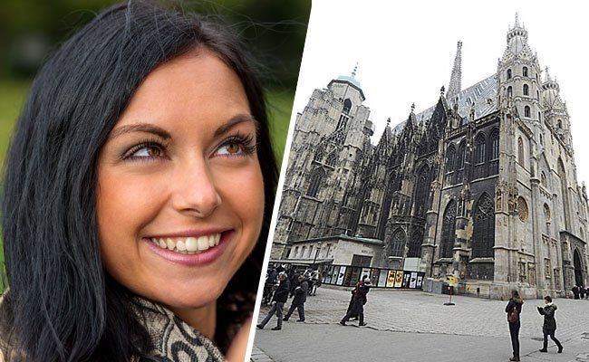 Am Stephansplatz kann man es am Donnerstag wagen, Fremden bewusst lange in die Augen zu schauen