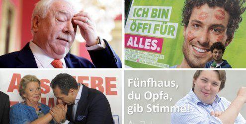 """""""Bezirkowitsch"""", Sexismus-Kritik: Wien-Wahlkampf im Rückblick"""