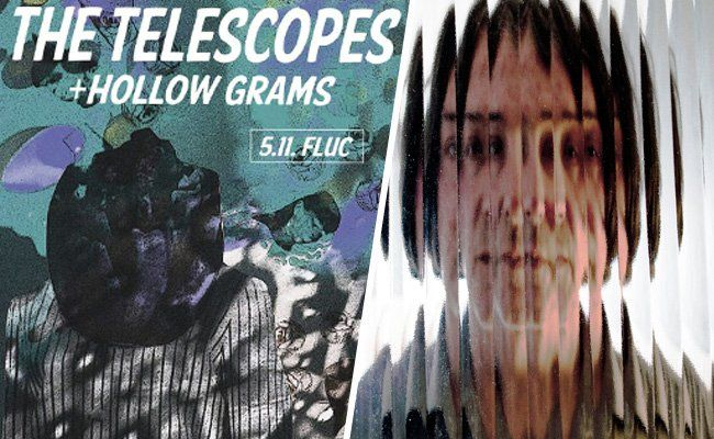 The Telescopes mit Support am 5.11 live im fluc