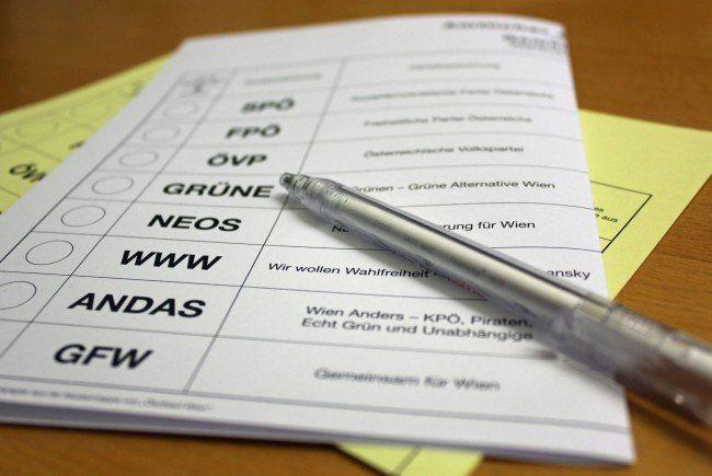 Viele Wiener entschieden sich, ihre Stimme per Wahlkarte abzugeben.