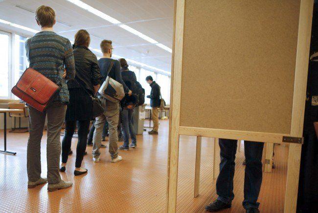 Wien wählt: Bis 17.00 Uhr haben die Wahllokale bei der Wien-Wahl geöffnet.
