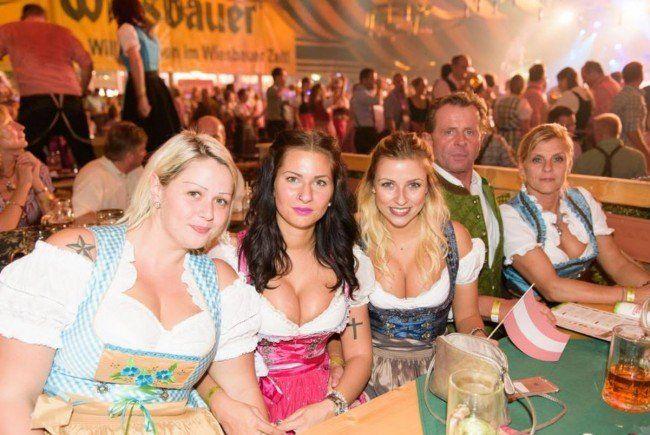 Neuer Besucherrekord auf der Wiener Wiesn 2015.