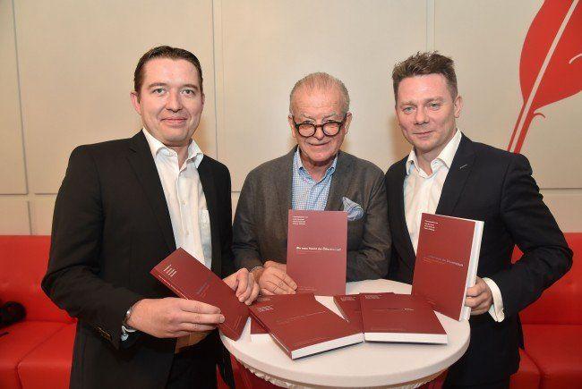 Die Herausgeber Rudi Klausnitzer, Marcin Kotlowski und Markus Pöllhuber
