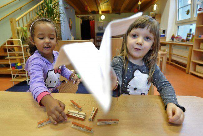 Wien hat beim Thema Kinderbetreuung in Österreich die Nase vorn.