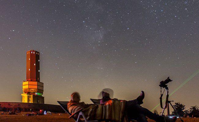 """Am Himmel kann eine seltene """"Planetenparade"""" beobachtet werden."""