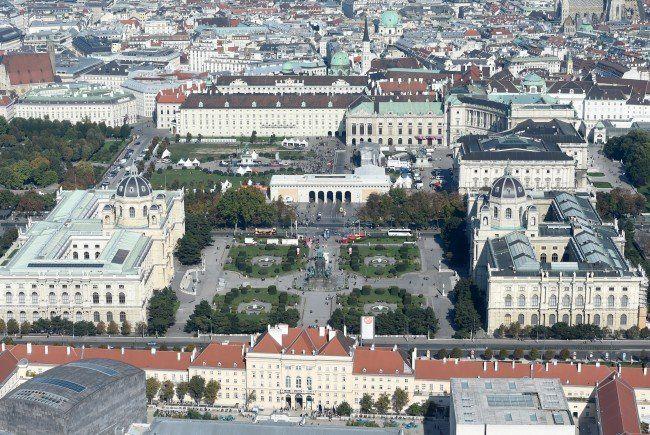 Neugestaltung des Heldenplatzes kostet über 111 Millionen Euro