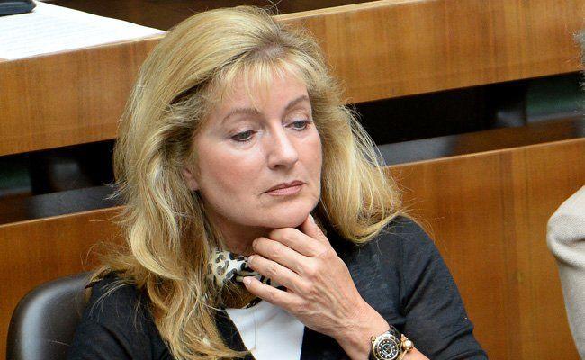 Susanne Winter rudert zurück.