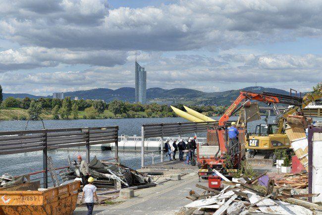 Copa Cagrana - Sima: Räumungsklage ging auch in letzter Instanz durch