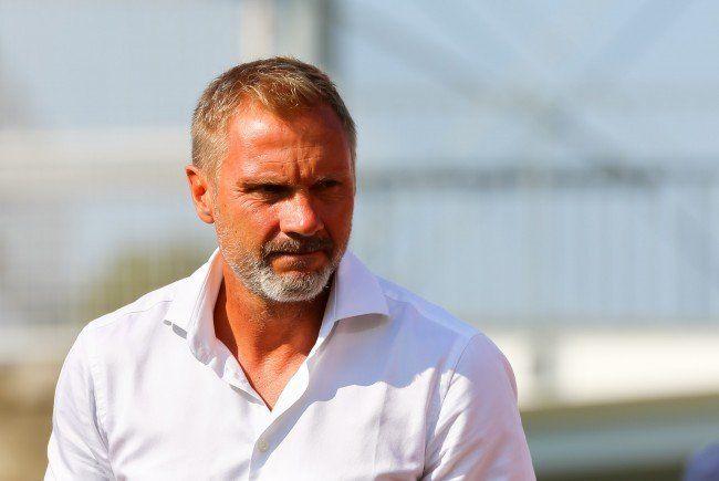 Austria-Trainer Thorsten Fink ist nach dem Sieg über Mattersburg zufrieden.