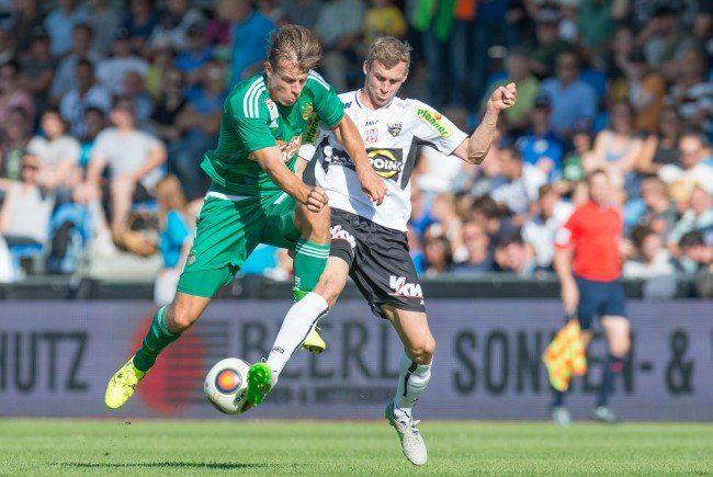 Rapid empfängt Altach in der 17. Bundesligarunde.